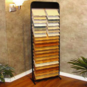 Metal Floor Tile Display Rack