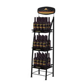 Commercial Metal Wine Display Rack