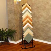 Metal Ceramic Tile Display Stand